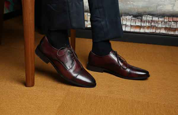 Dark Brown shoes image