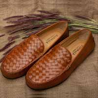 Moccasins woven leather header image