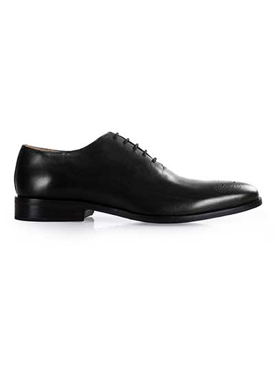 Premium Black Wholecut home carousel shoe image