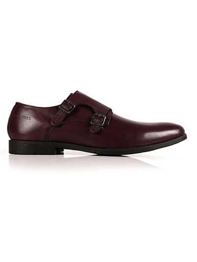 Premium Burgundy Plain home carousel shoe image