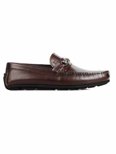 Premium Brown Horsebit home carousel shoe image