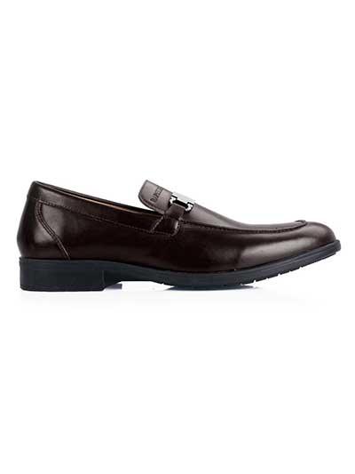Premium Brown Buckle home carousel shoe image