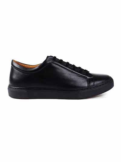 Premium Black Plain home carousel shoe image