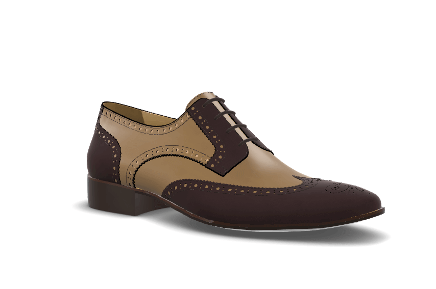 Full Brogue Derby model image