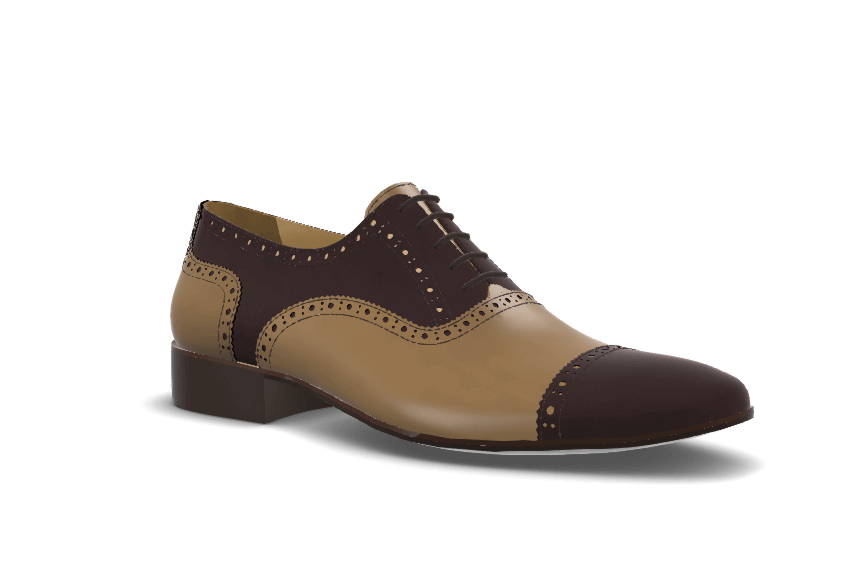 Half Brogue Oxford model image