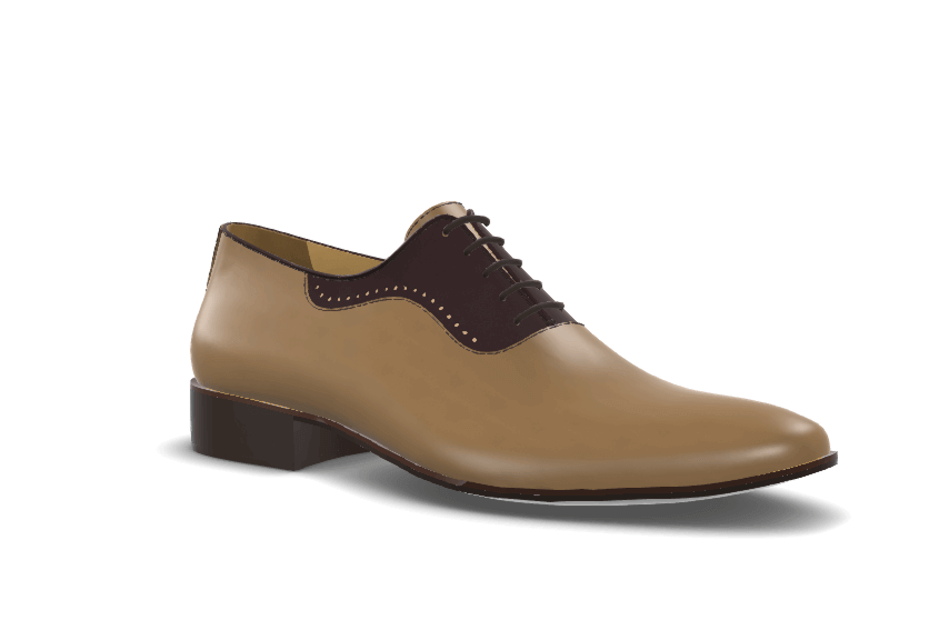 Wholecut Oxford with Eyelet model image
